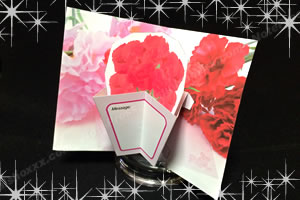 母の日のポップアップカードを簡単手作り!「完成イメージ」