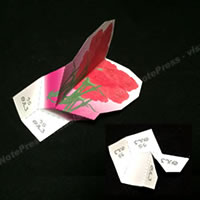 母の日のポップアップカードを簡単手作り!「手順 2」