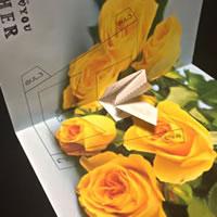 父の日の手作りポップアップカード!「手順 3」
