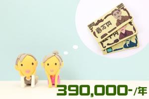 年金の受給額が増える方法「年間約39万円増額!」
