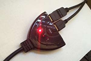 テレビのHDMI端子 増設方法!入力端子を切替器で増やしてみた!