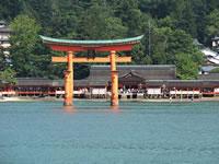 日本の世界遺産画像「厳島神社」